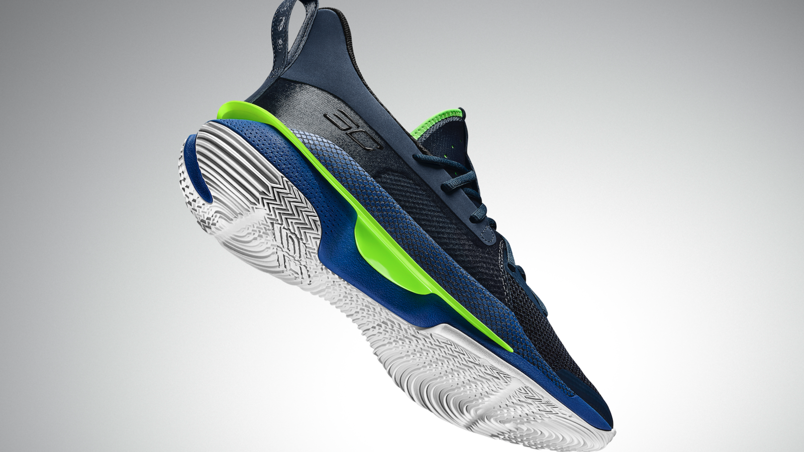 """Steph Curry & Under Armour Nod To """"Dub Nation"""" With Unique Curry 7 Colorway"""