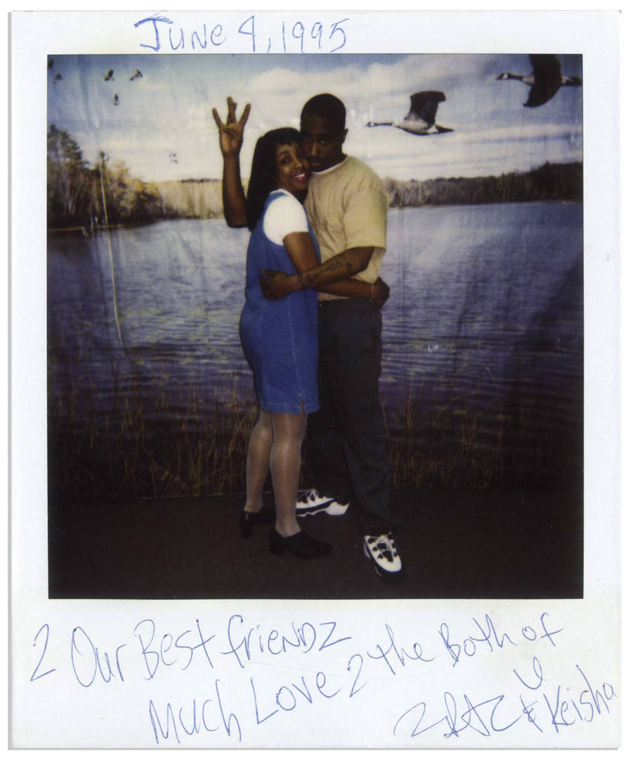 Tupac Shakur's Prison Polaroids With Wife Keisha Morris Going Up For Auction