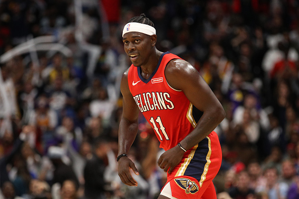 Pelicans guard Holiday 'indeed available' via trade