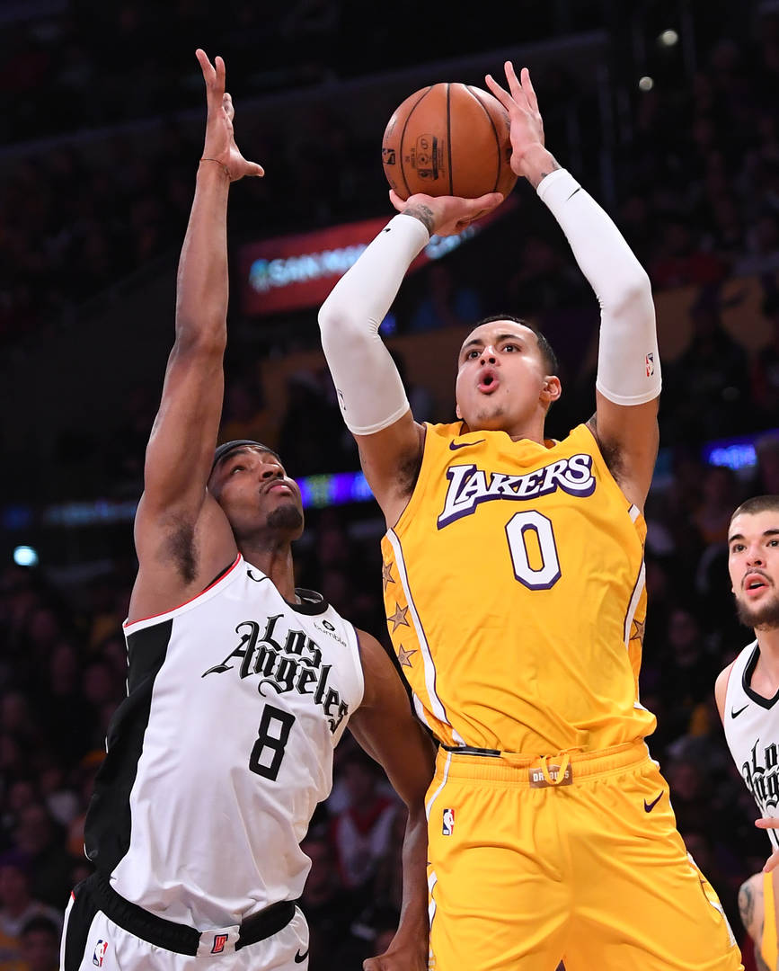 Kings have tried to engage Lakers on Kyle Kuzma trade