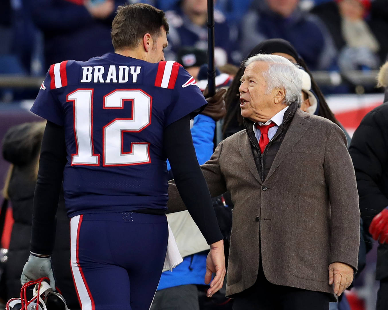 Robert Kraft Comments On Tom Brady's Future With The Patriots