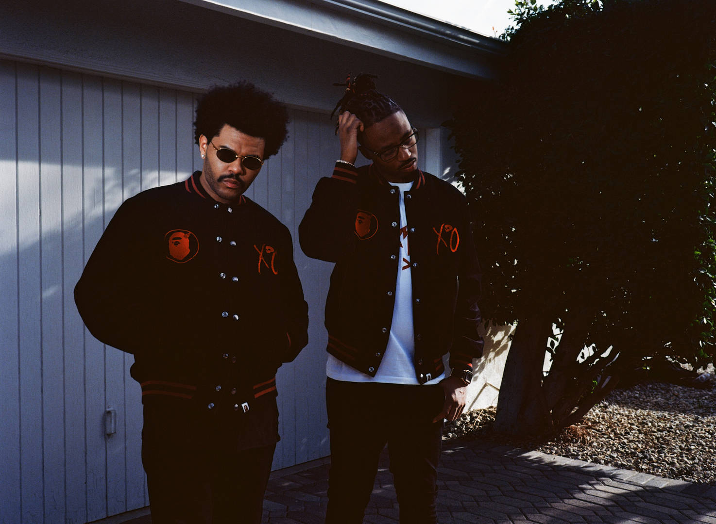 The Weeknd Completes His Mustache Look With A New BAPE x XO Collab