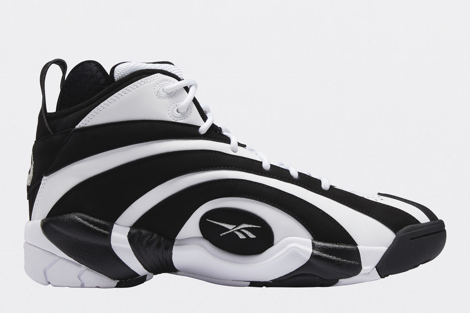 Reebok Is Bringing Back Shaq's OG Black & White Shaqnosis From 1995