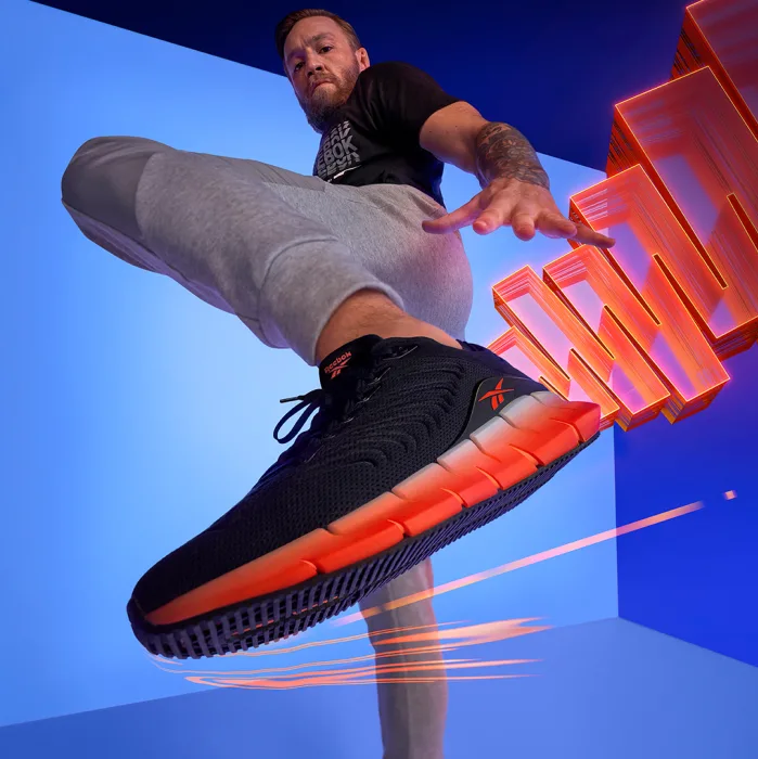 Conor McGregor Introduces Reebok's New Sneaker: Zig Kinetica