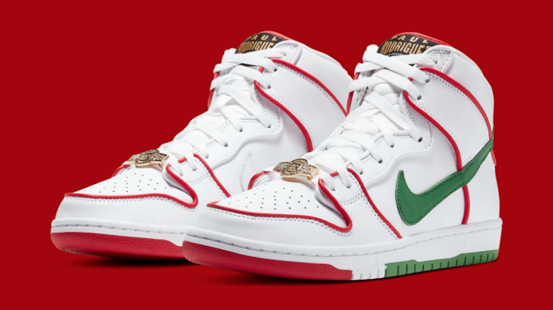 "Paul Rodriguez x Nike SB Dunk High ""Mexico"" Available Now: Resale Price Report"