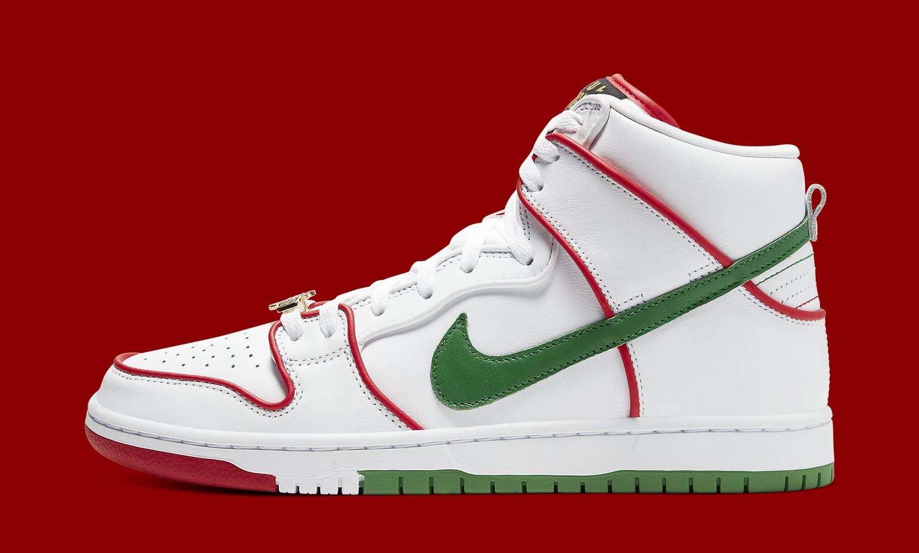 Paul Rodriguez x Nike SB Dunk High Honors Mexico's Boxing Heritage: Release Info