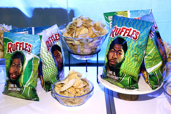 Lakers' Anthony Davis Launches New Ruffles Chip Flavor