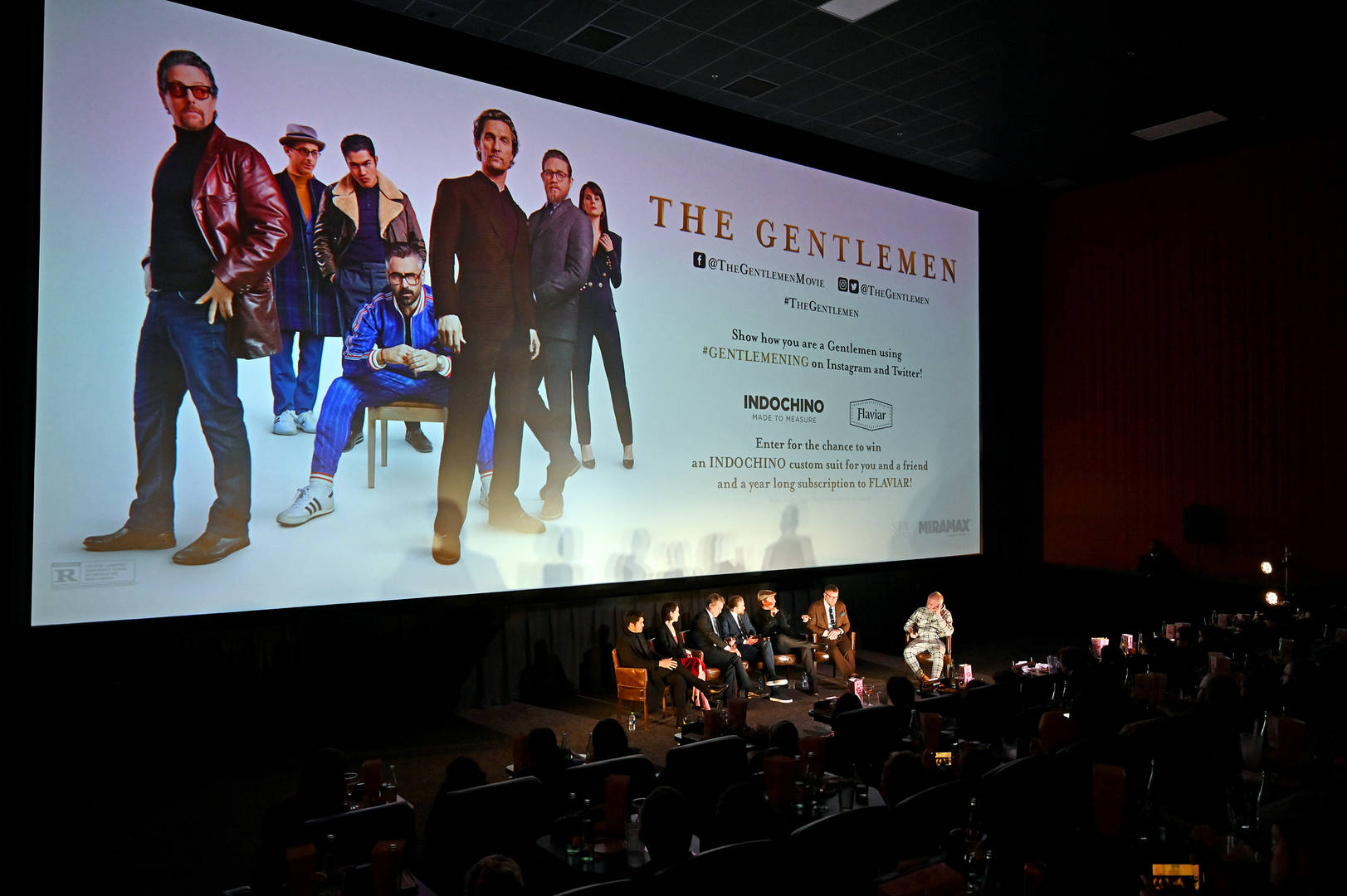 "The World's First Movie Poster Made Entirely Out Of Weed Created For ""The Gentlemen"""