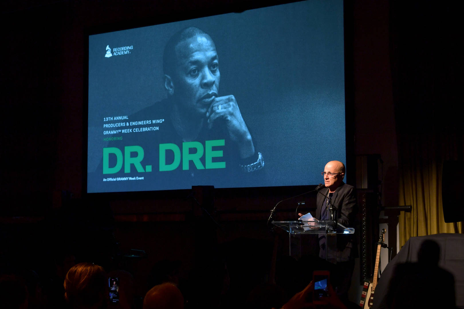 "Dr. Dre Honoured By Grammys, Highlights ""Crucial Role"" Of Producers In Acceptance Speech"