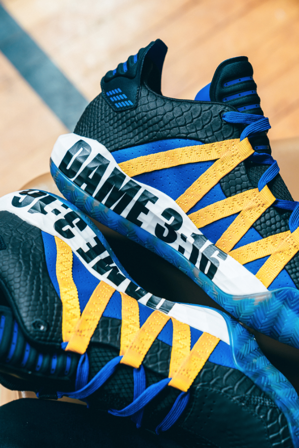 "Damian Lillard's ""Stone Cold"" Adidas Dame 6 Releasing For The Royal Rumble"