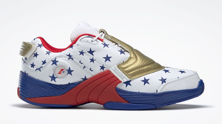 """Allen Iverson's Reebok Answer V Low """"USA"""" Releasing For 2020 Olympics"""