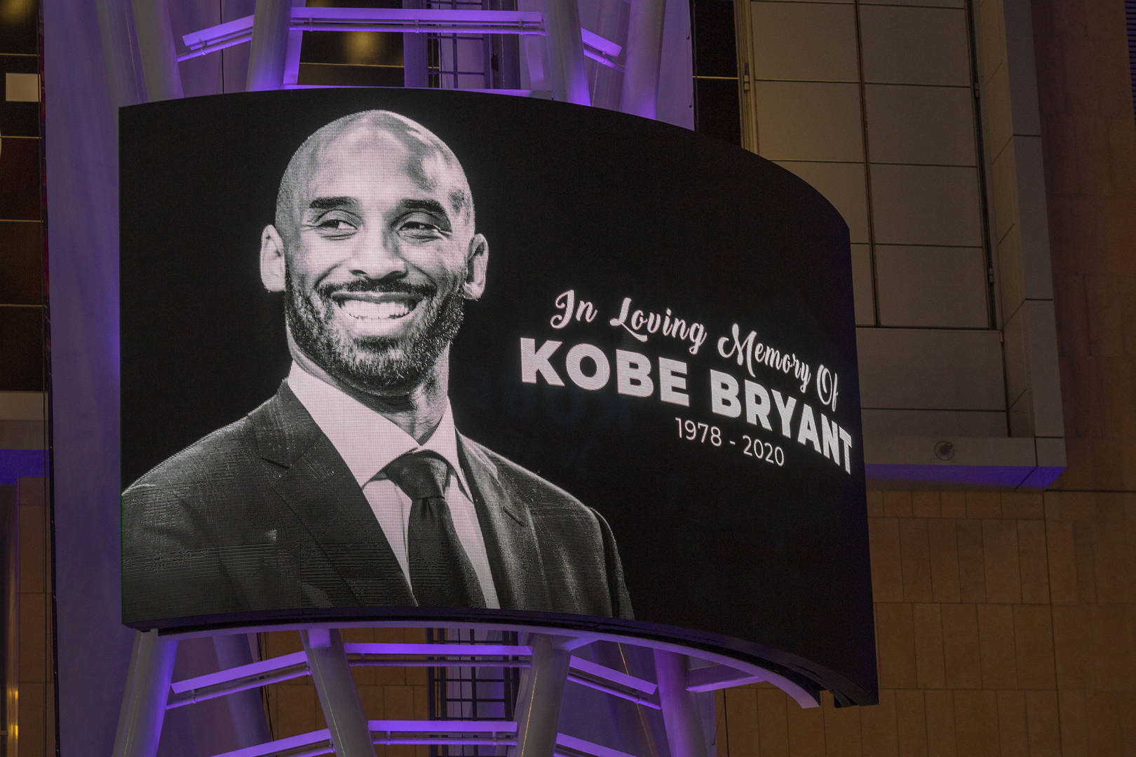 Kobe Bryant & Gianna Bryant Mural Appears In Los Angeles Following Their Deaths