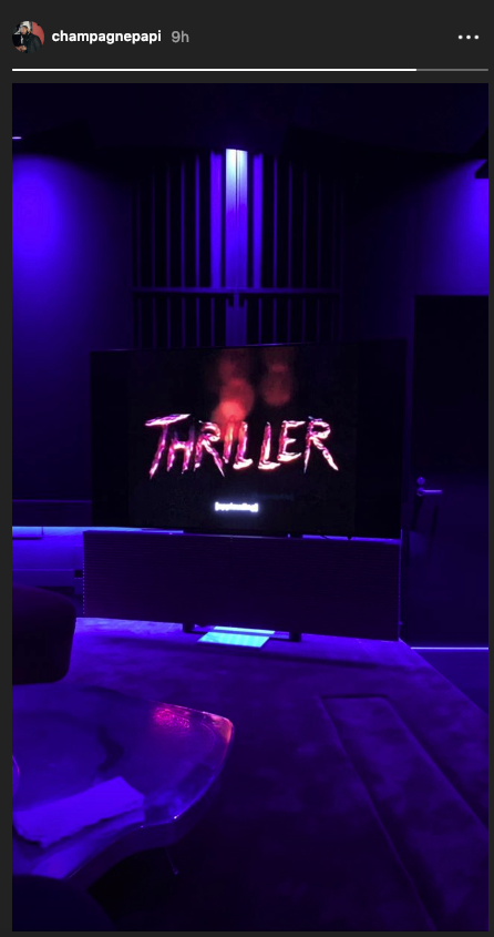 """Drake Is On Some """"Thriller"""" Vibes On This Fine Tuesday"""