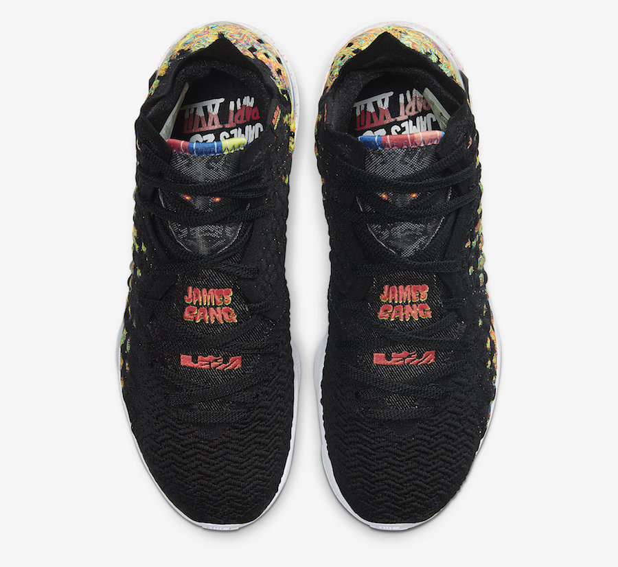 """LeBron James Nods To The """"James Gang"""" With New Nike LeBron 17"""