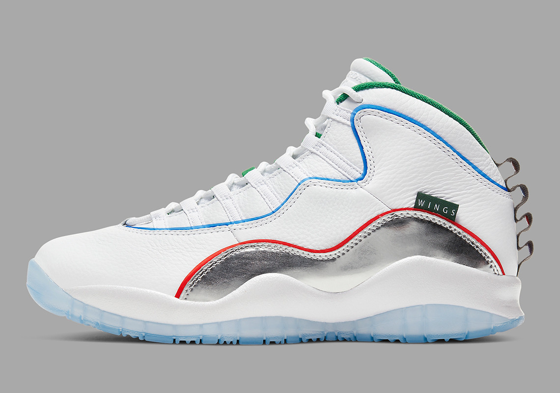 "Air Jordan 10 ""Wings"" Pulls Inspiration From Chicago's Transit Lines: Release Info"
