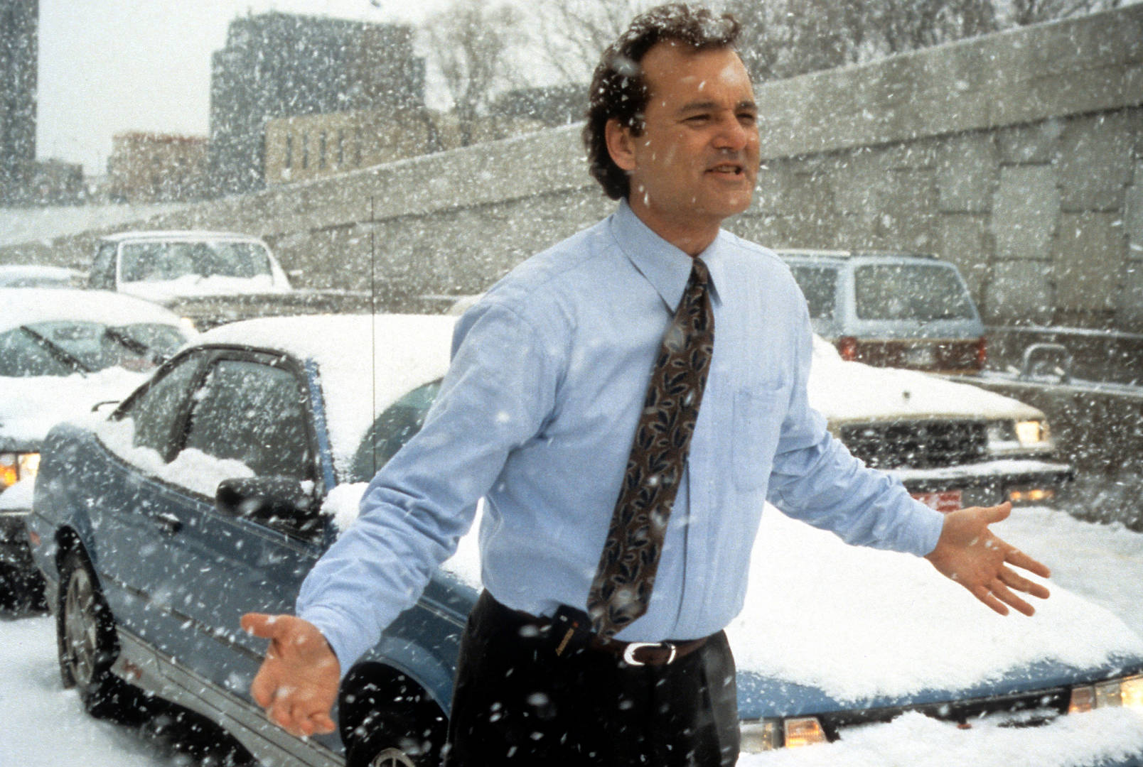 Bill Murray Reprises 'Groundhog Day' Role in Jeep Ad
