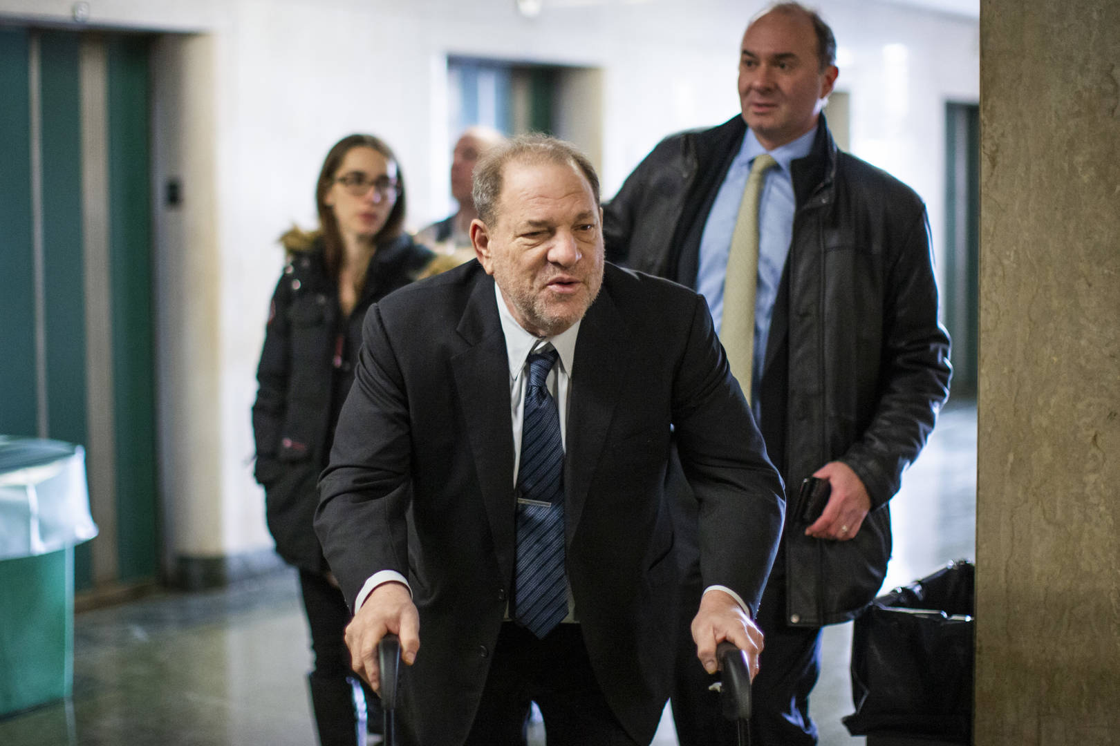 Jessica Mann Testifies Gross Encounter With Harvey Weinstein After His Mom Died