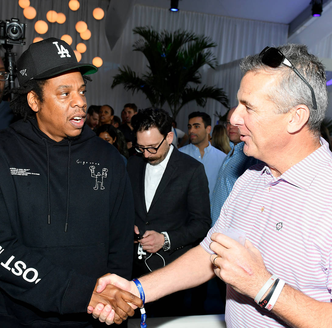 Jay-Z Denies Protesting When Seated During National Anthem At Super Bowl