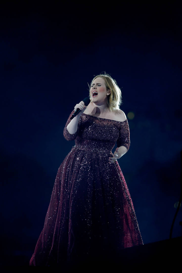 weight loss exercise Adele singing