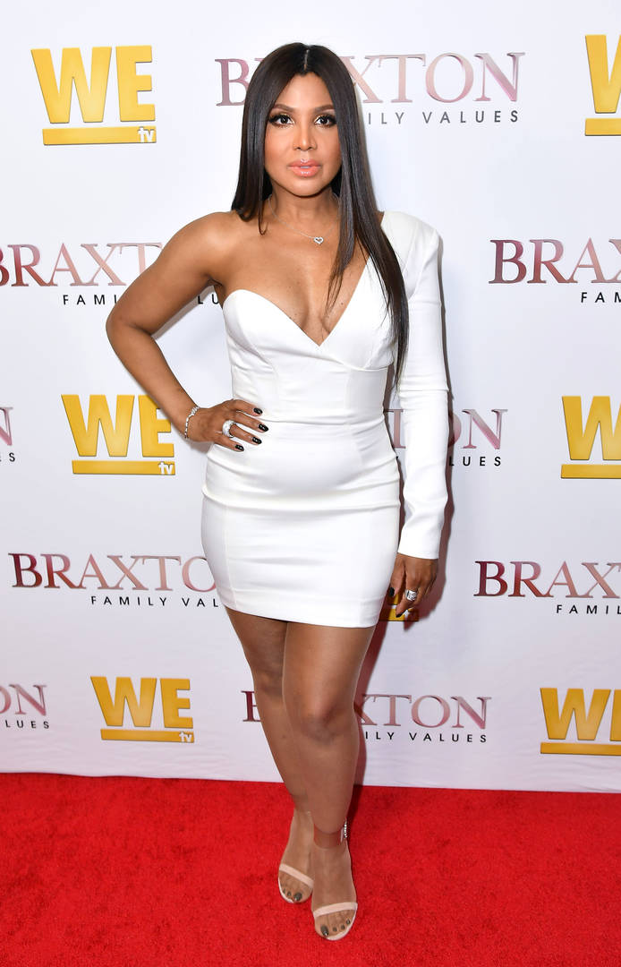 Toni Braxton behind the music