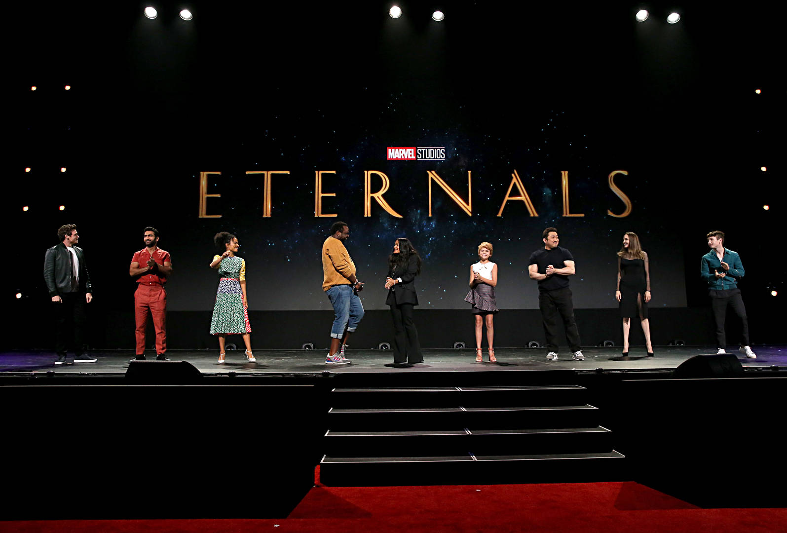 'Eternals' Star on MCU's First Gay Kiss: 'Everyone Cried on Set'