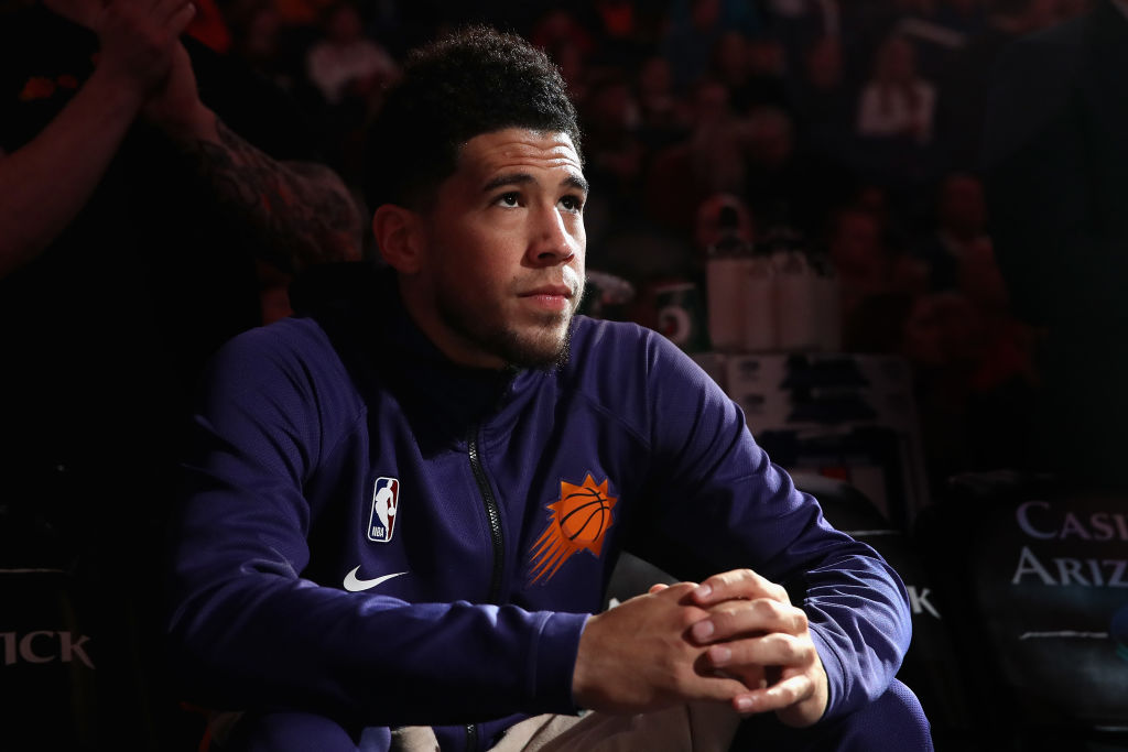 Devin Booker will replace Damian Lillard injured in the All-Star Game
