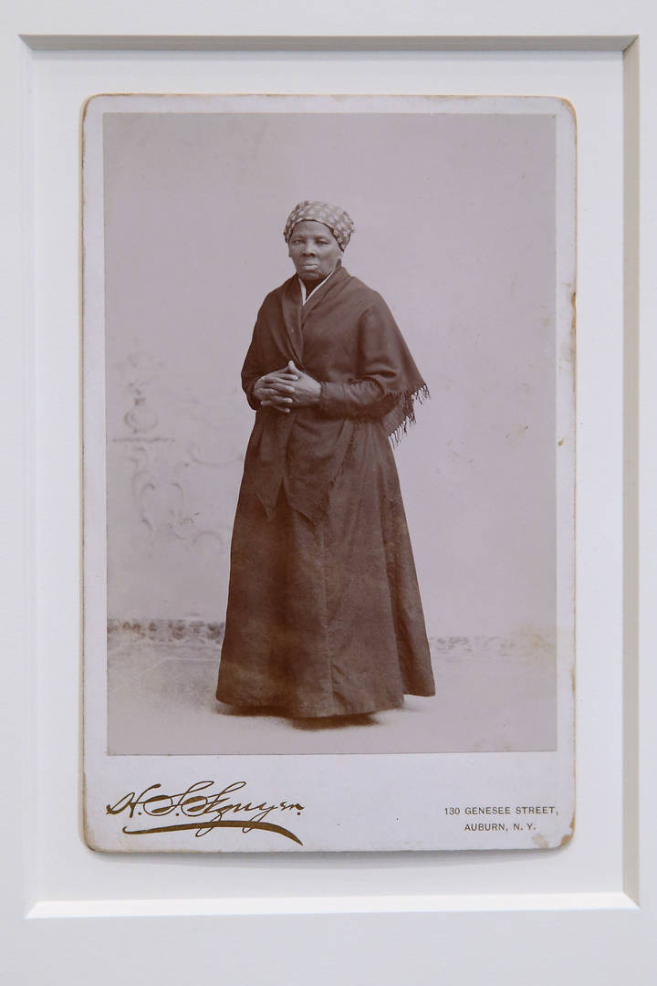 Harriet Tubman debit card
