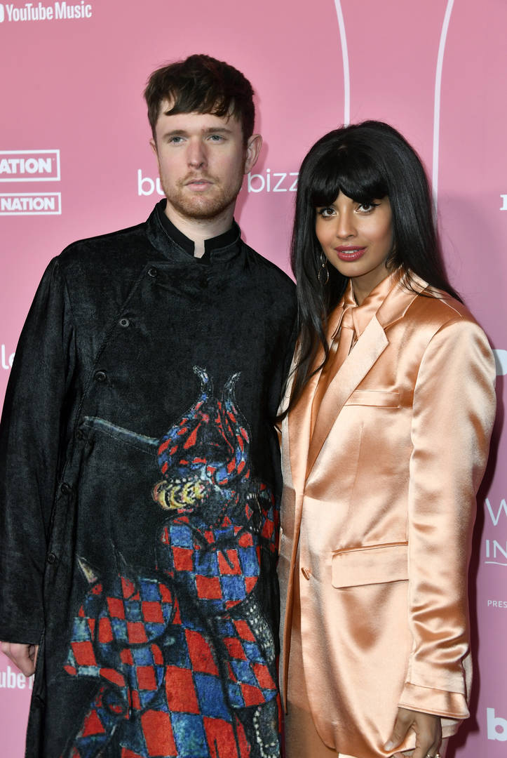 James Blake Defends Girlfriend Jameela Jamil