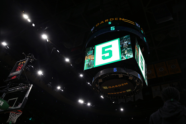 Celtics announce plans to retire Kevin Garnett's jersey