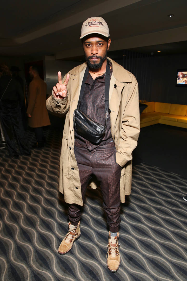 "Lakeith Stanfield Has ""No Issues"" With Charlamange Tha God After Fallout"