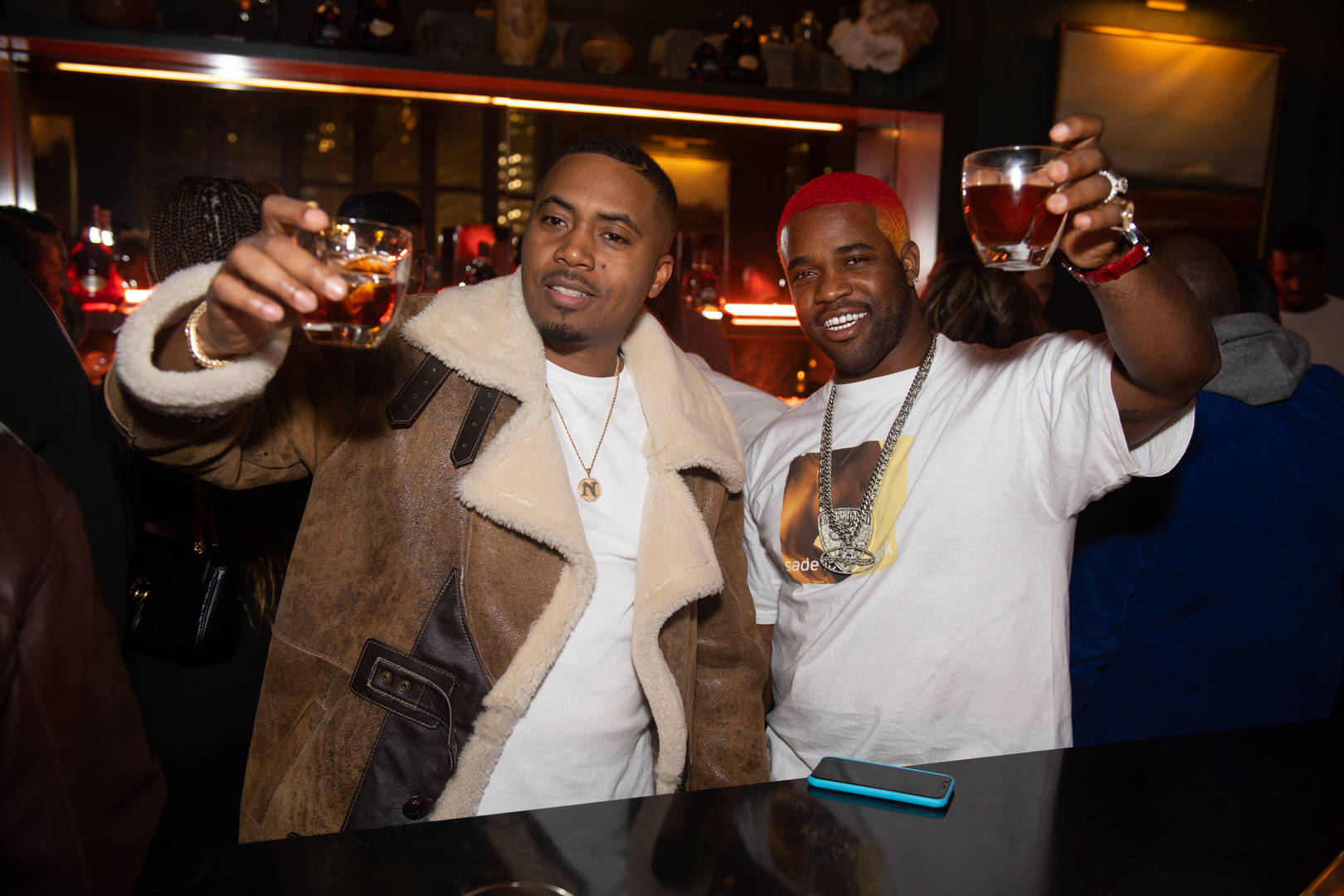 Nas Hennessy NBA partnership brand ambassador announcement official spirit all-star weekend game