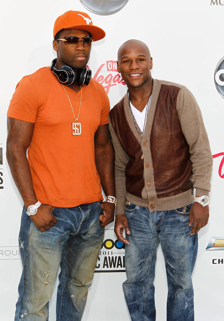 50 Cent Floyd Mayweather fight boxing ring broke money Hot 97 Ebro in the Morning radio interview