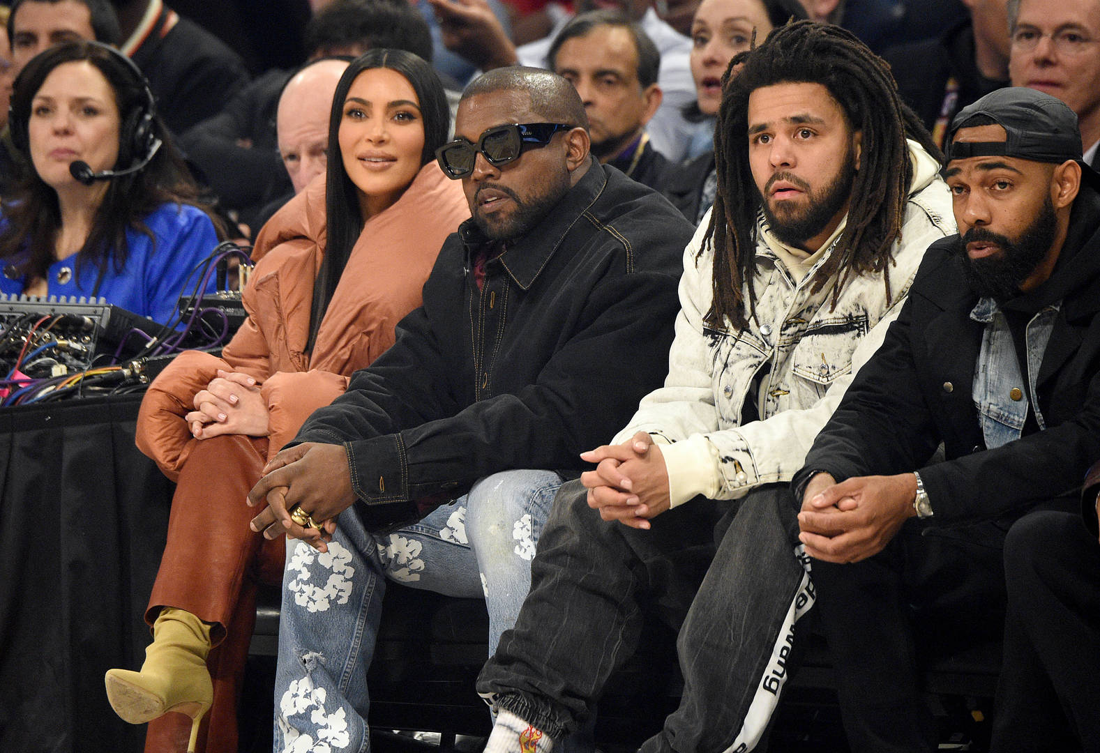 Kanye J. Cole nba all-star