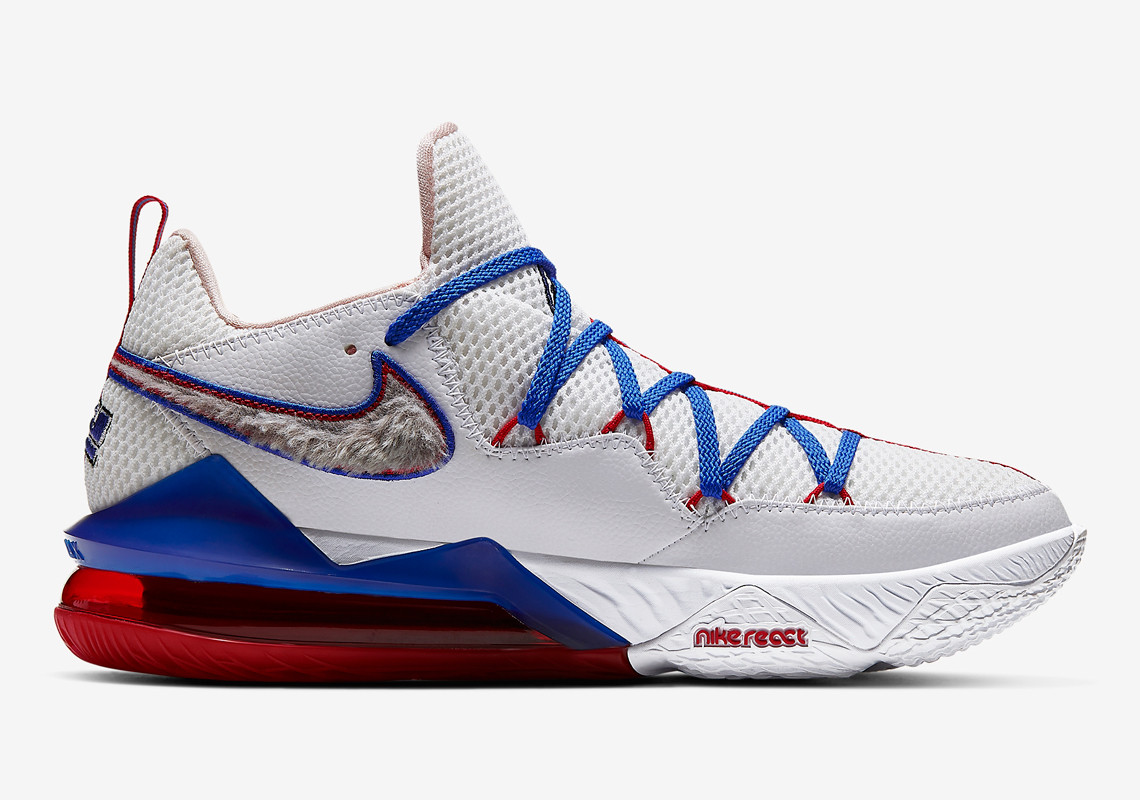 Space Jam Nike LeBron 17 Low Tune Squad