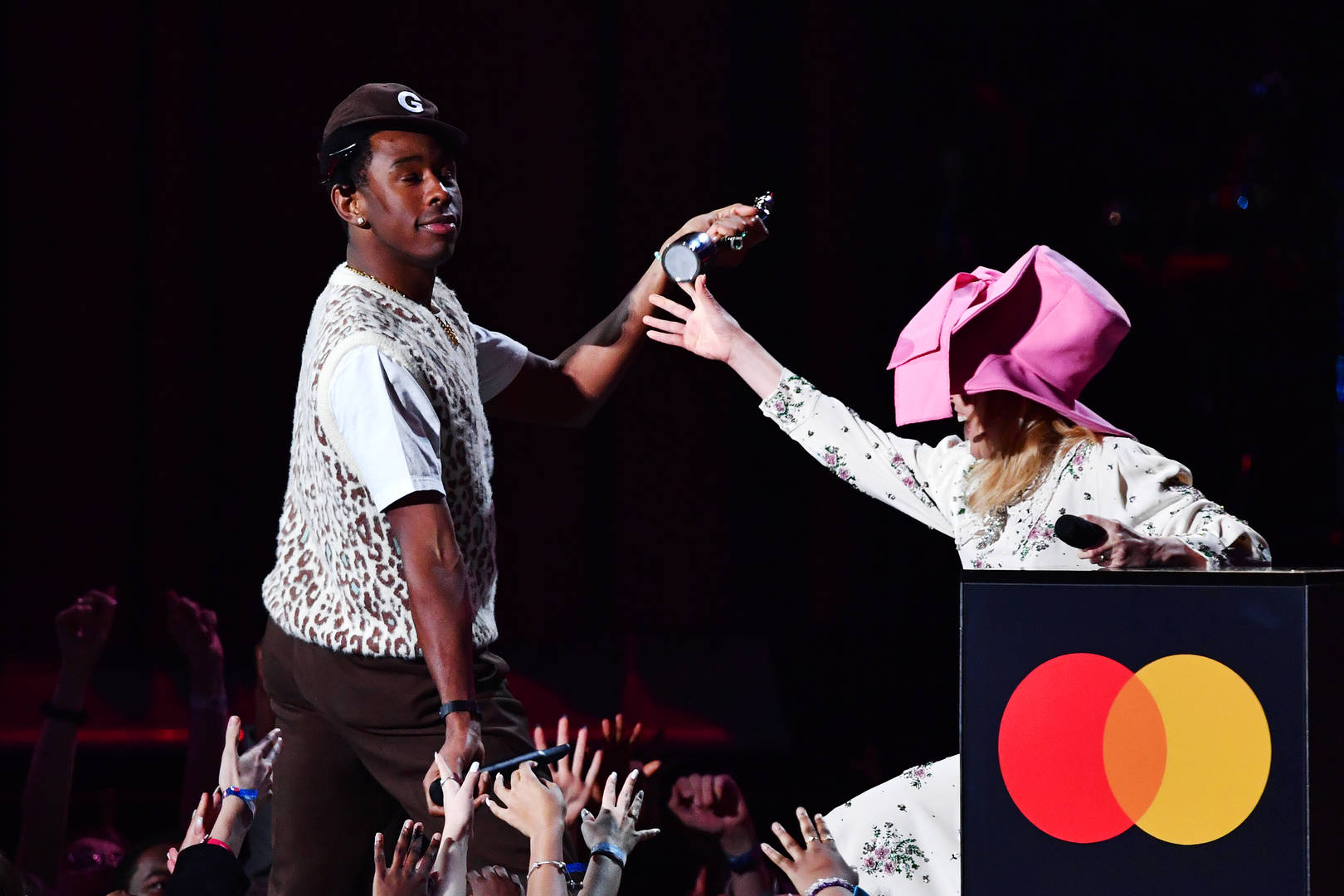 Tyler, The Creator Trolls Ex-UK Prime Minister Theresa May At The 2020 BRIT Awards