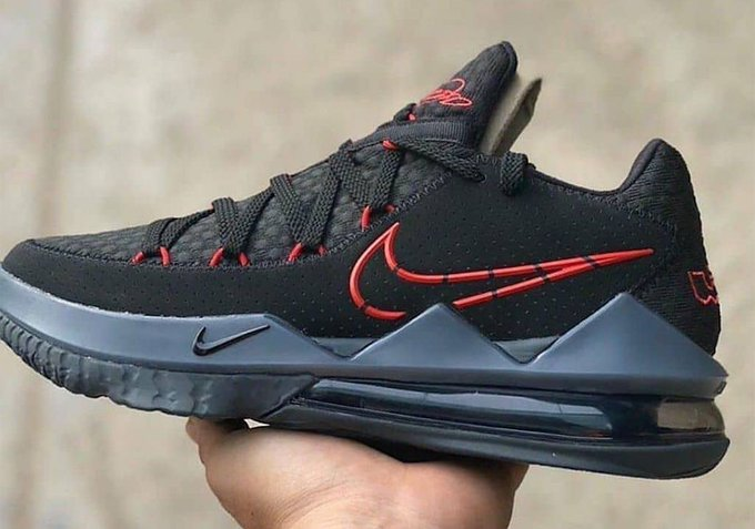 """LeBron James' Nike LeBron 17 Low Unveiled In """"Bred"""" Colorway"""