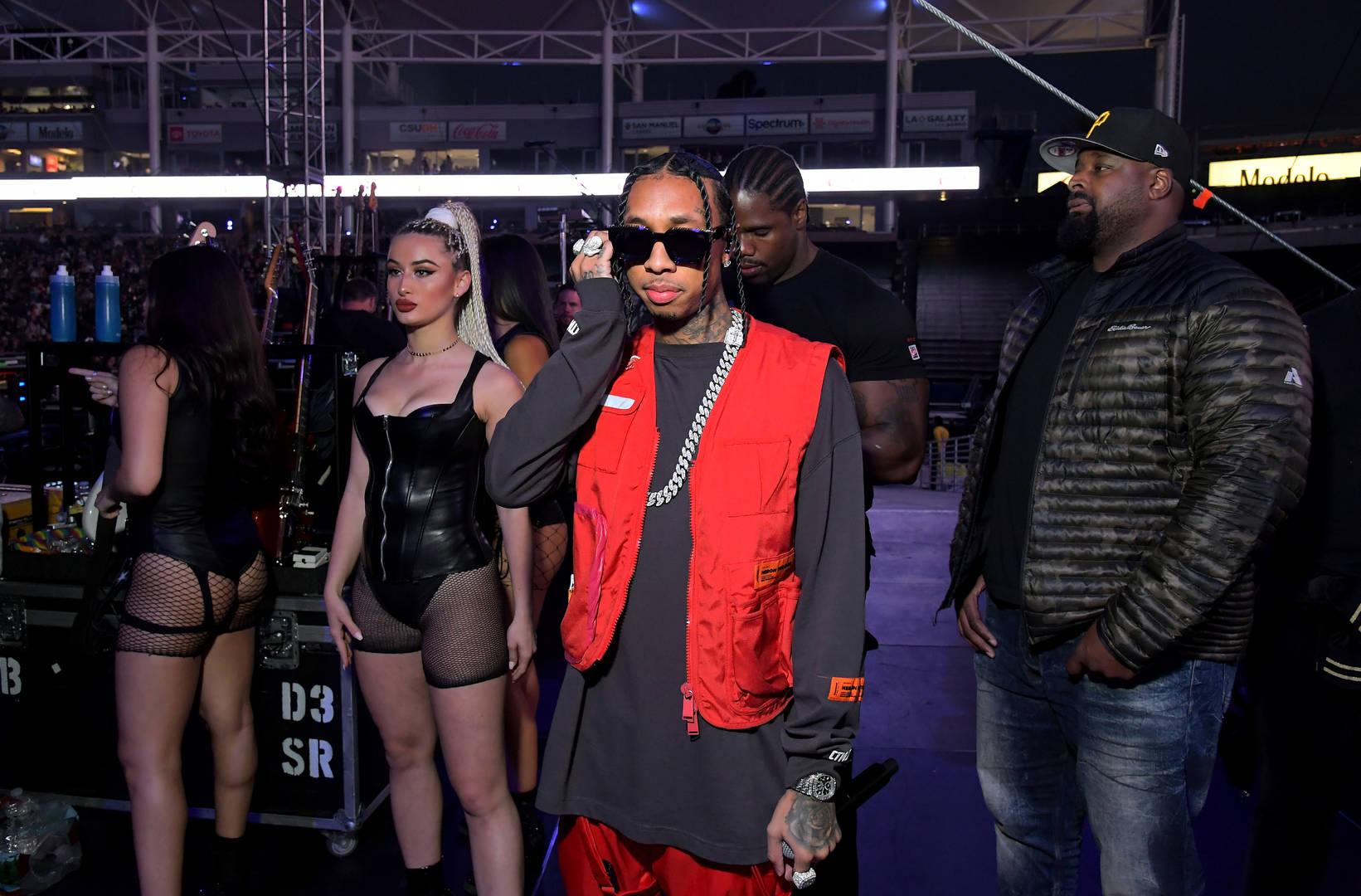 Tyga Keeps The Racks Rolling By Tossing Thousands In A Tribeca Strip Club