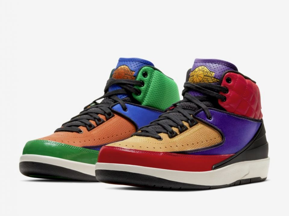 """Air Jordan 2 Revealed In Insane """"Rivals"""" Colorway: Release Info"""