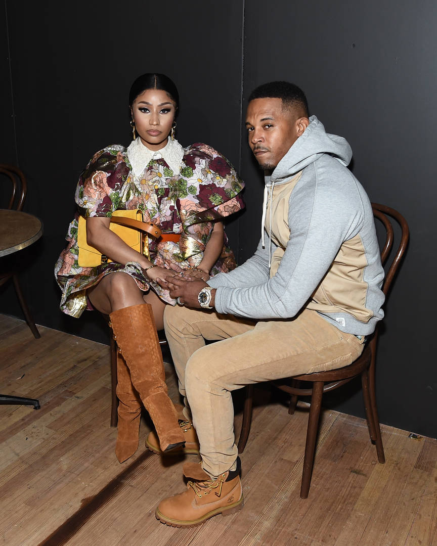 Nicki Minaj pregnancy baby pregnant spark rumours Kenneth Petty belly-rubbing video baby bump