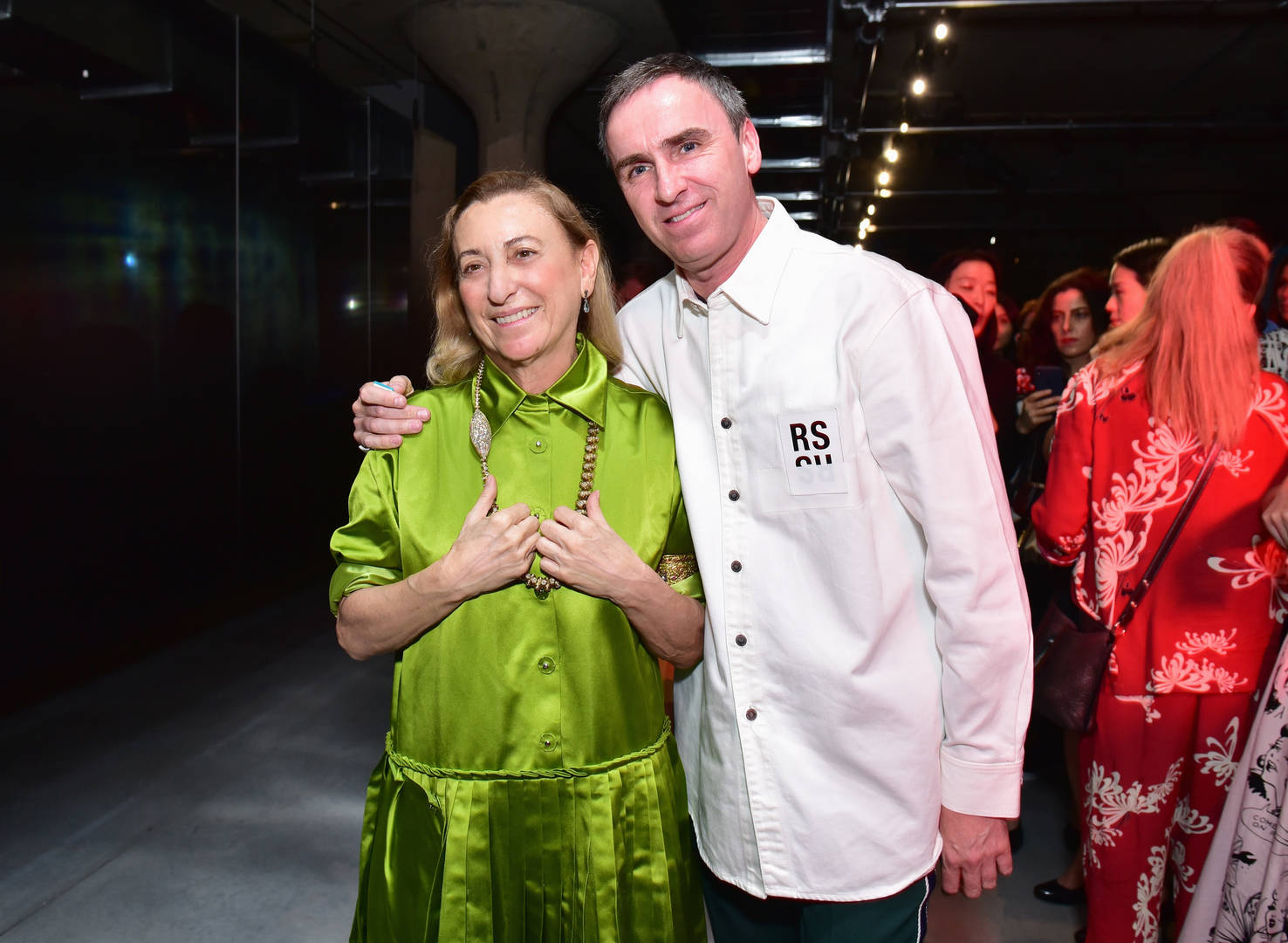 Raf simons, Miucci Prada, Co-creative director