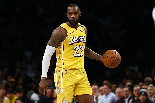 Lakers LeBron James