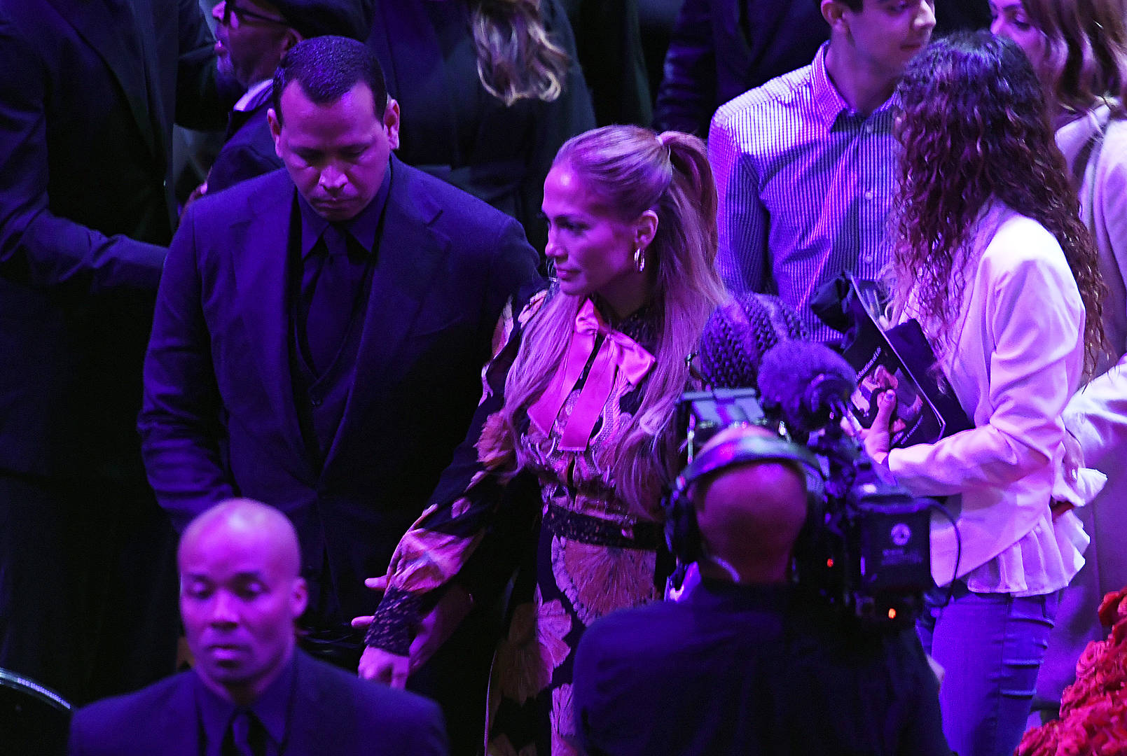 Jennifer Lopez Kobe Memorial