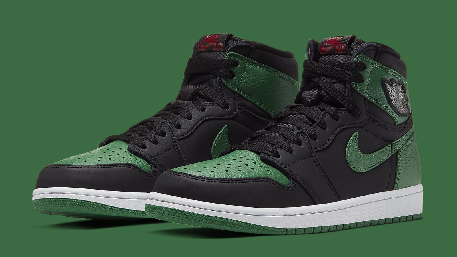 "Air Jordan 1 High OG ""Pine Green"" Coming Soon: Official Photos"