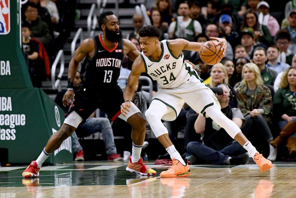 Giannis says there's no 'back and forth' with Harden