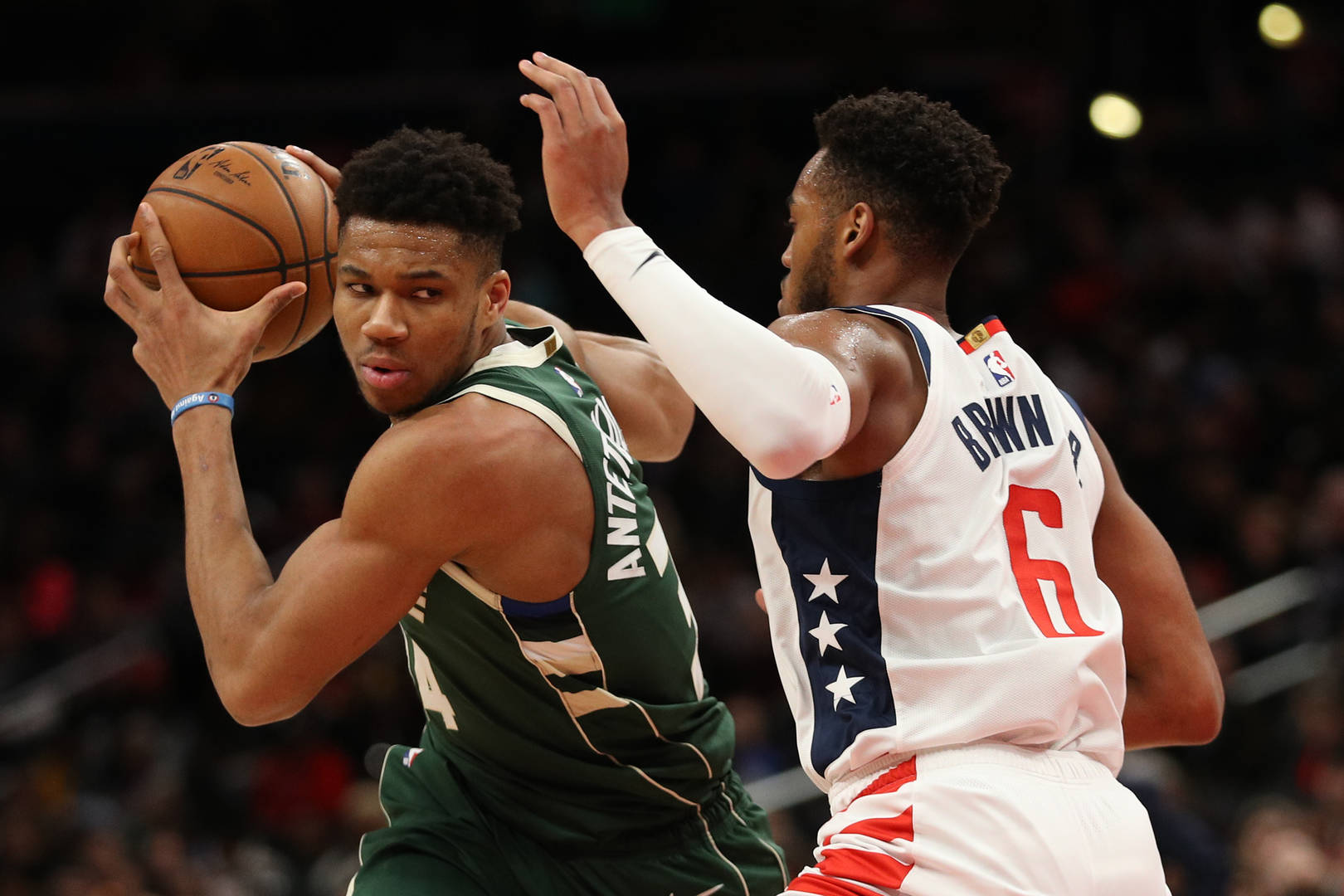 Giannis Antetokounmpo Milwaukee Bucks Greek Freak