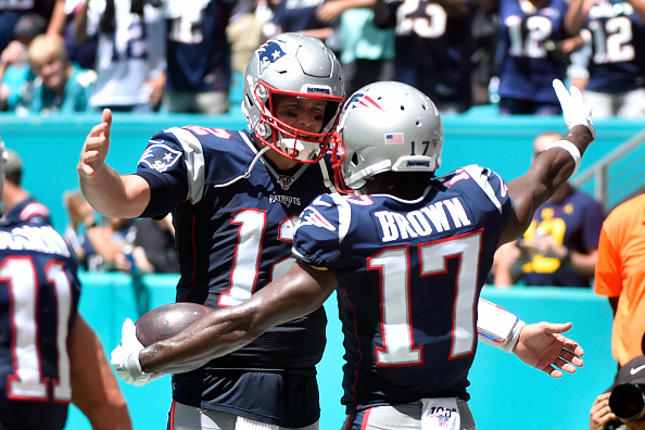 Tom Brady, Antonio Brown