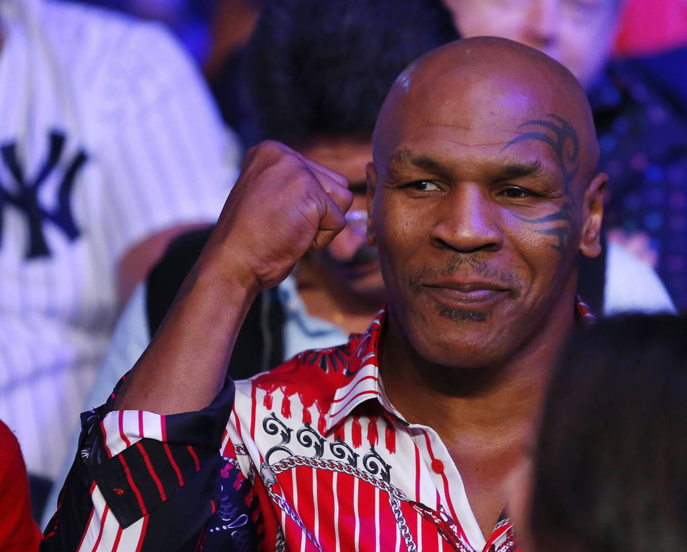 Mike Tyson Crying
