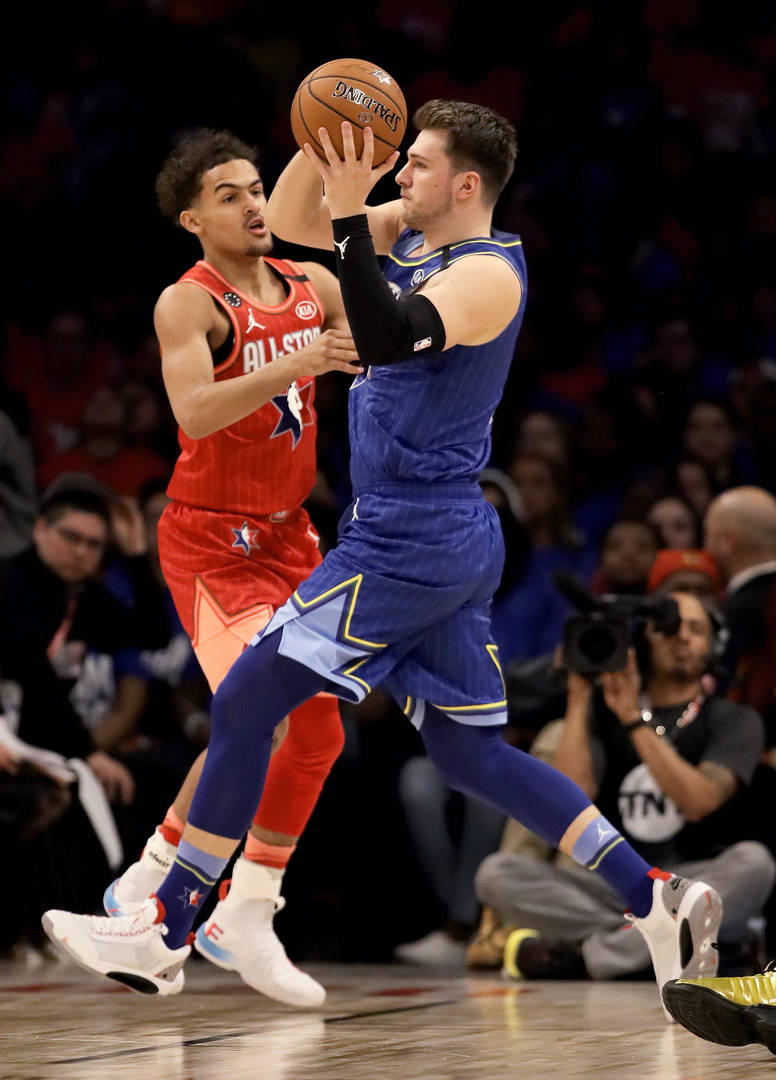 Trae Young Vs. Luka Doncic: A Tale Of Two Sophomores