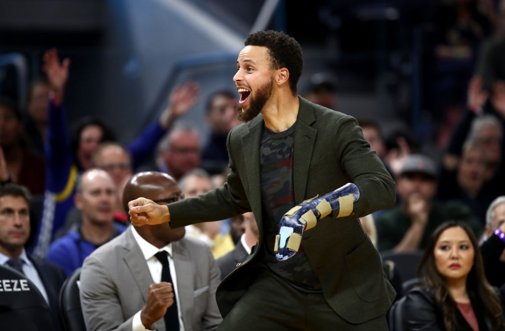 Warriors Steph Curry