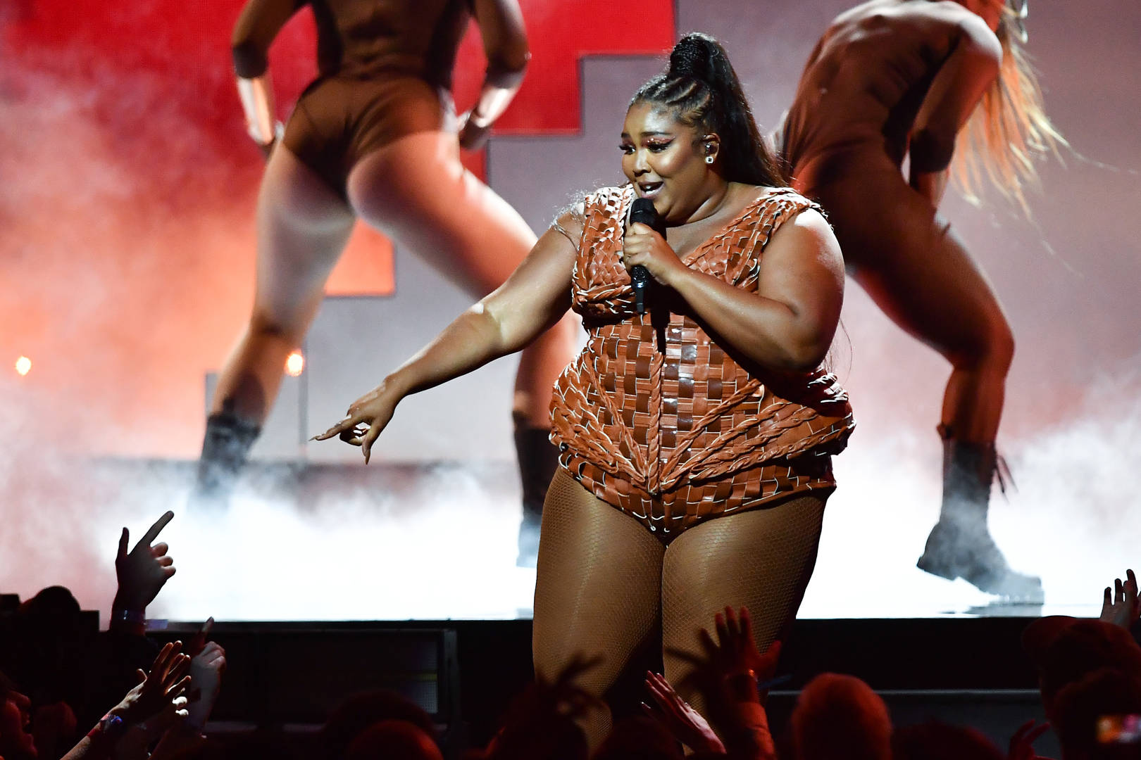 Lizzo hints TikTok deleted her bikini videos because of fatphobia